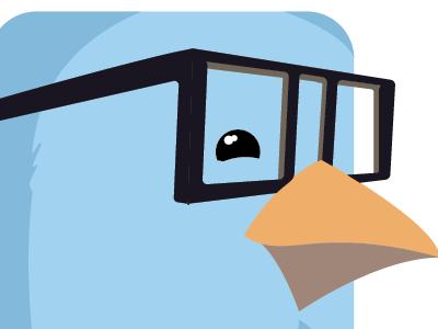 Flat Finch Icon