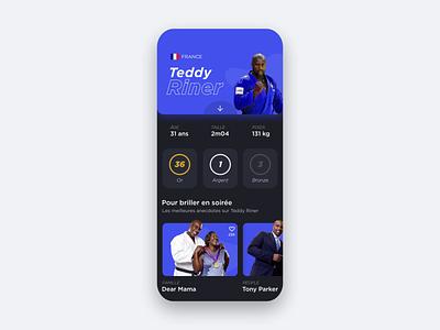 Irys - Profile UI Animation animated mobile sports web uiux ui design ux uidesign ui gif digital design animation app