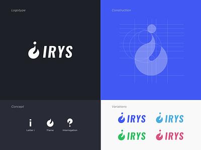 Irys - Logo Design vector ux ui typography minimal logo design logotype logo identity graphism minimalist flat design brand identity branding brand