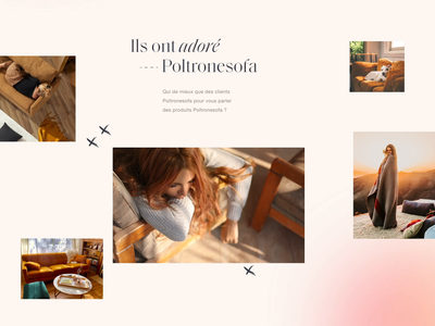Poltronesofa - UI Sneak Peek branding design typography grid product minimal clean web design web website e-commerce ui ux luxury chic contemporary luxurious