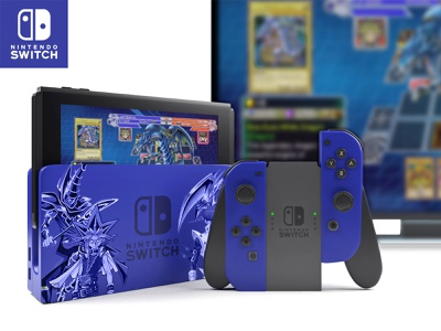 Yu-Gi-Oh - 3D Switch Redesign videogame game card  game card yugioh yugi switch nintendo nintendo switch cinema 4d graphism design c4d arnold 3d