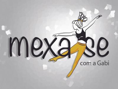 Logo de personal | mexa-se dance workout illustration identity branding logo