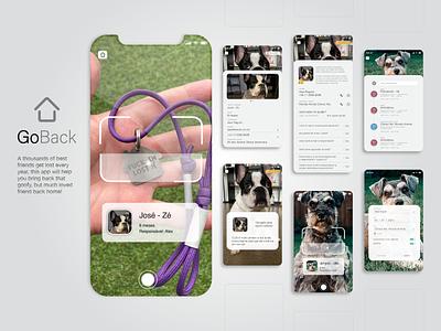 GoBack - Pet Collar ui pet pets animal app design
