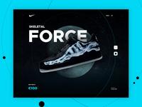 Nike Airforce 1 - Skeletal