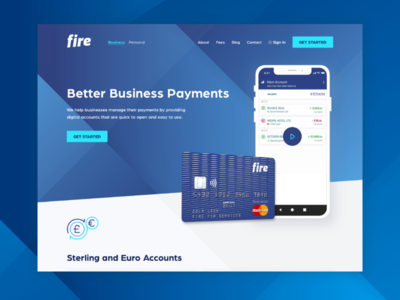 Fire Payment : Business Concept