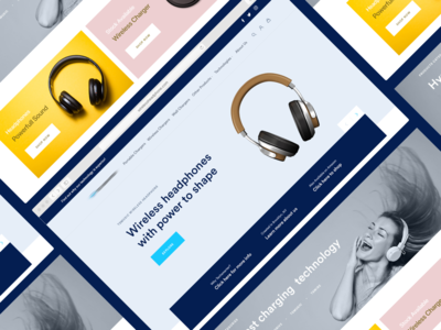 Headphone Website