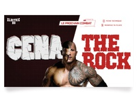 Digitalrooster : Cena vs The Rock