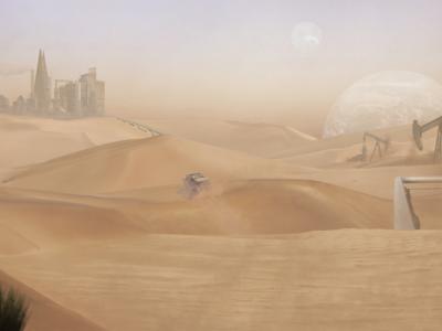 Desert Concept - Blade Runner 2049