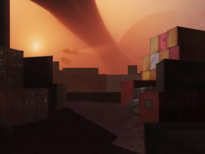 Suburbs - Blade Runner 2049