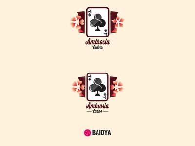 Ambrosia Casino Logo Design