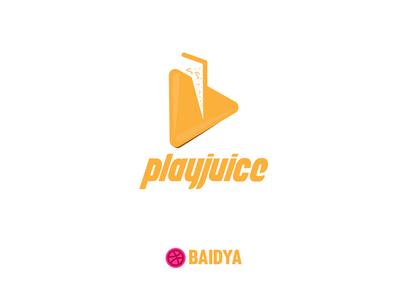 Play-juice Logo design