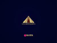 Mexican pyramid logo design