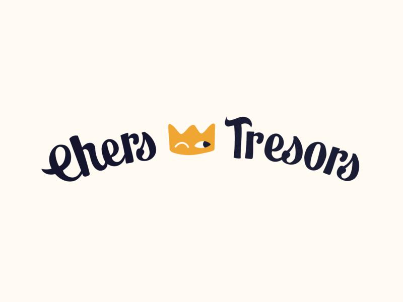 Chers Tresors font naive cute king kids clothing brand crown clothing kid