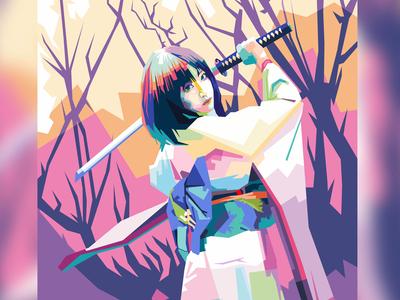 Samurai Girl's on WPAP