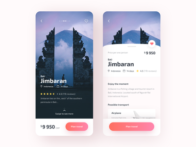 Travely - Travel App travelers explore plan travel travel indonesia bali earth travel app traveling concept app colors ux ui sketch design app