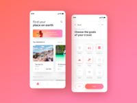 Travely   travel app search 2