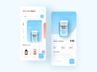Beer Shop E-Commerce App Concept