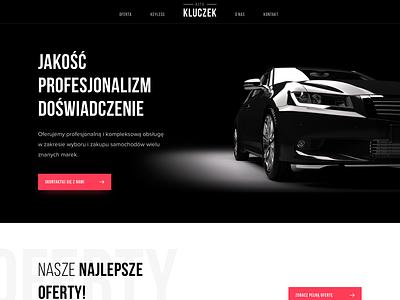Car Dealer Website 🚗 car dealer dealers audi cards sale auto website design website webdesign web black dealer car colors sketch ux ui design