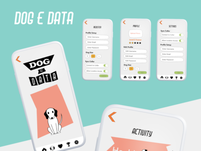 Dog E Data, App Design