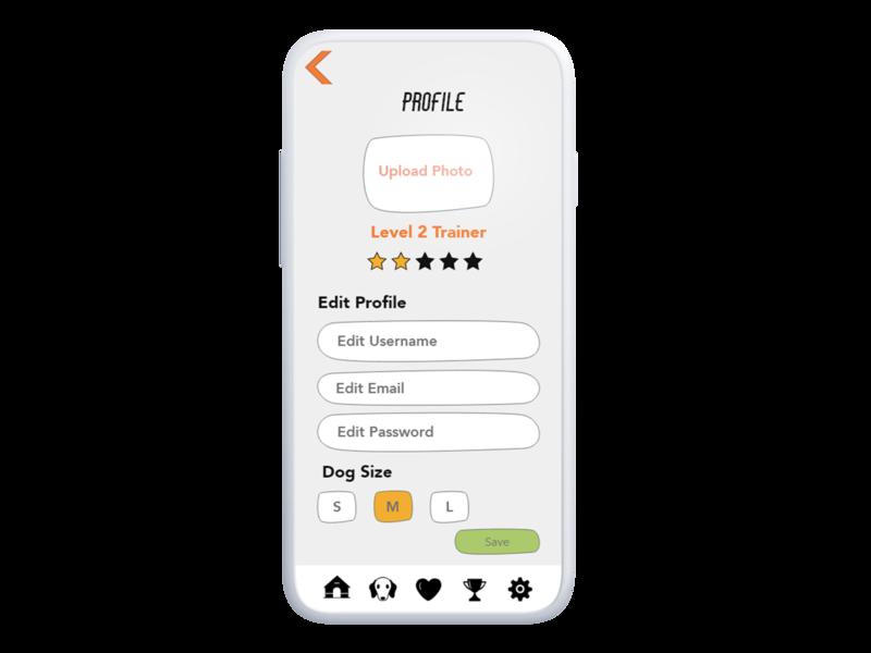 Dog E Data, UI Design