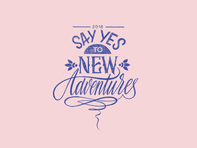 Say yes to new adventures 💪