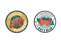 Strawberry Nitro Tags