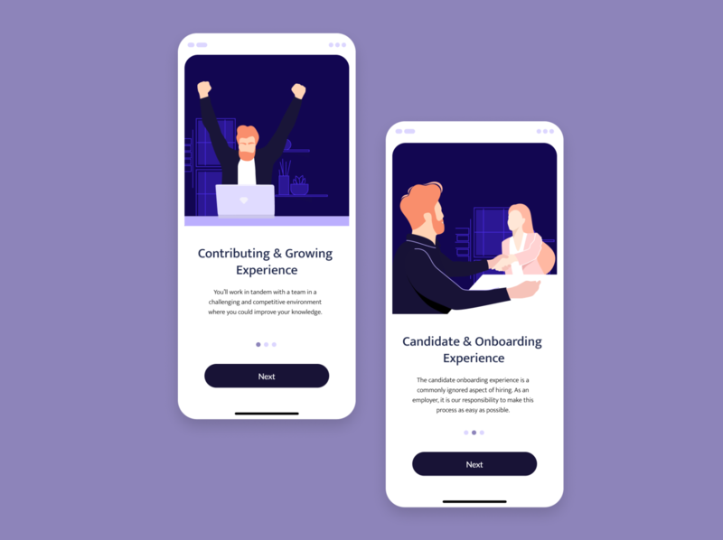 HR illustrations onboarding hr job uidesign uiux ui vector design illustration