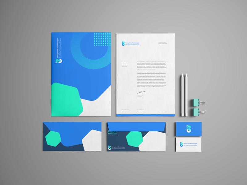 Swissprime Identity software it iot folder business card letter polygraphy brand identity branding design startup logo switzerland swiss identity branding blue ui illustration vector design
