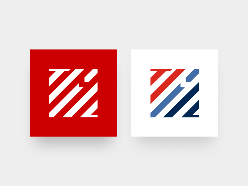 The Motor Chain logo symbol red logotype racing car racing digital blockchain icon symbol vehicle car identity logo branding