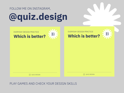 Quiz.design graphic logo branding identity desktop digital quizzes game ui ux mobile website web design instagram quiz web design