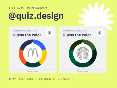 Quiz.design color brand branding identity game practice mobile uiux desktop ui ux webdesign website web quiz