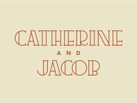 Catherine & Jacob