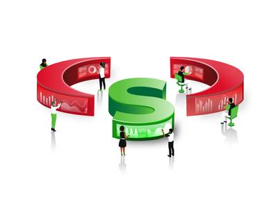 Isometric design concept ft Safaricom