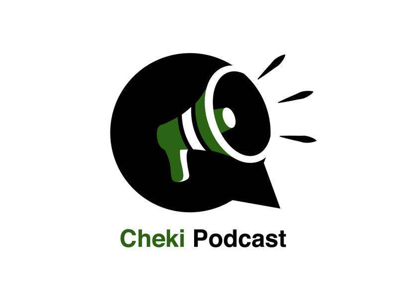Cheki Podcast cheki podcast podcast kenya nairobi vector logo