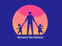 Simama Na Watoto humanitarian logo savekids kids logo