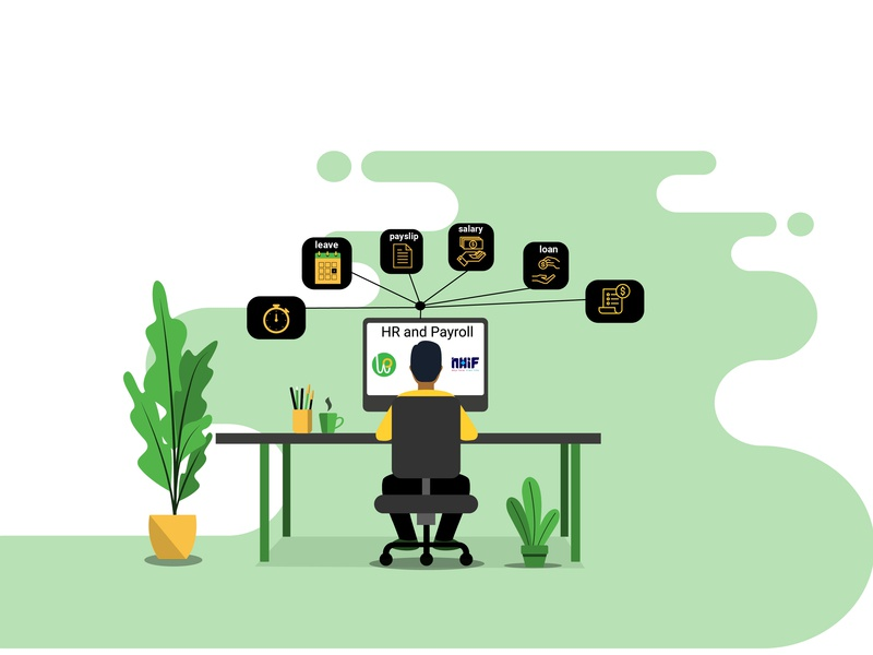 website illustratrion ui landing page africa vector illustrator illustration