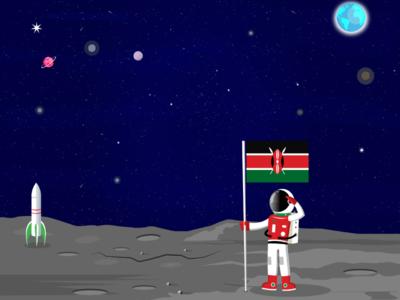 Kenya in space