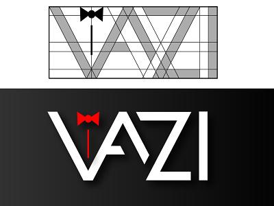 Vazi logo nairobi kenya fashion logo tie logo vazi