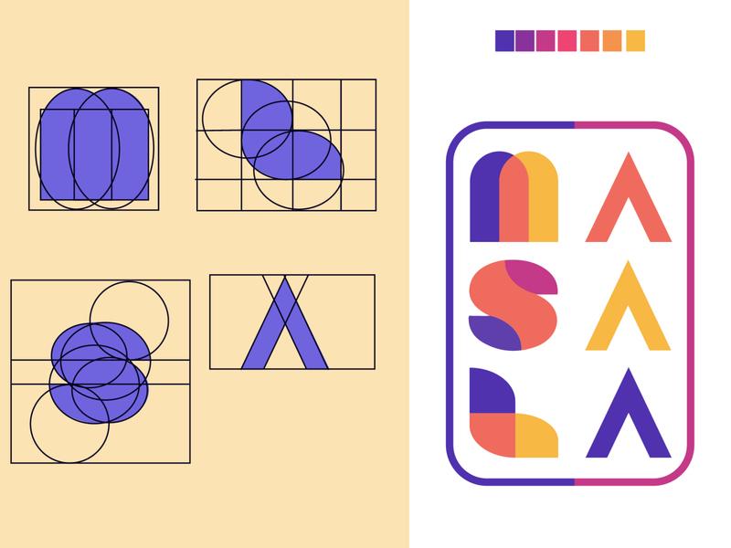 masala logo kenya nairobi illustrator logotype logo masala geometric colorful