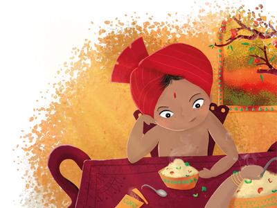 Saj eat something! - contest illustration