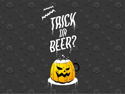 Trick or Beer? phone cover candy bag to-buy society6 halloween icons halloween flyer october autumn fall creepy scary trick-or-beer trick-or-treat holiday party holiday bat beer pumpkin halloween