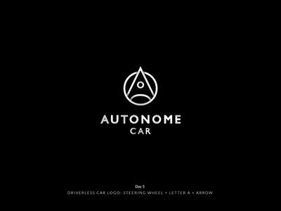 Daily Logo Challenge Day 5! Driverless Car Logo