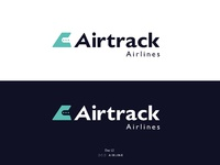 Kamila figura figured it out daily logo challenge day 12 airline logo airtrack obszar roboczy 1 kopi