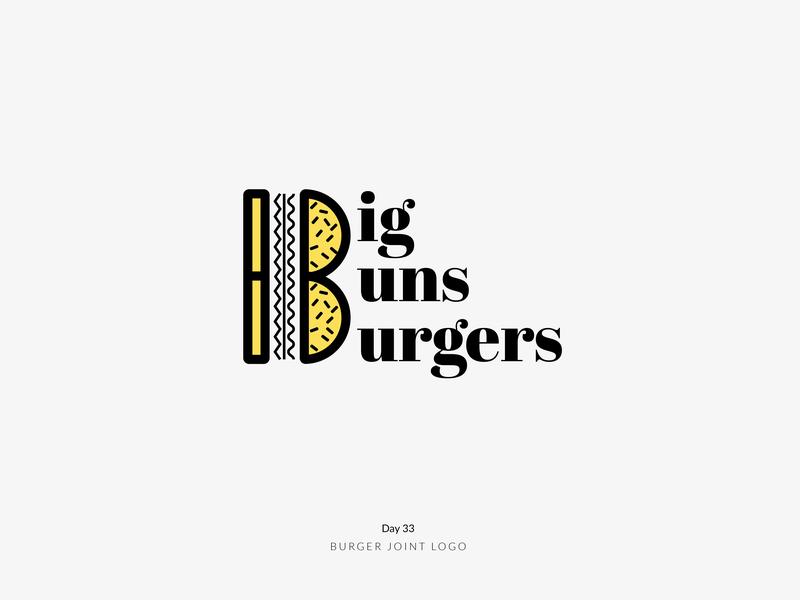 Daily Logo Challenge Day 33! - Burger Joint Logo streetfood food burger day33 logoideas logoinspire branding logodesign logodesigner dailylogochallenge dailylogo logomark logo logotype