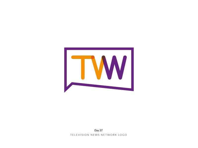 Daily Logo Challenge Day 37! - Television News Network Logo day37 news network television brand logoidea logoideas logoinspire logoconcept branding logodesign logodesigner dailylogochallenge dailylogo logomark logo logotype