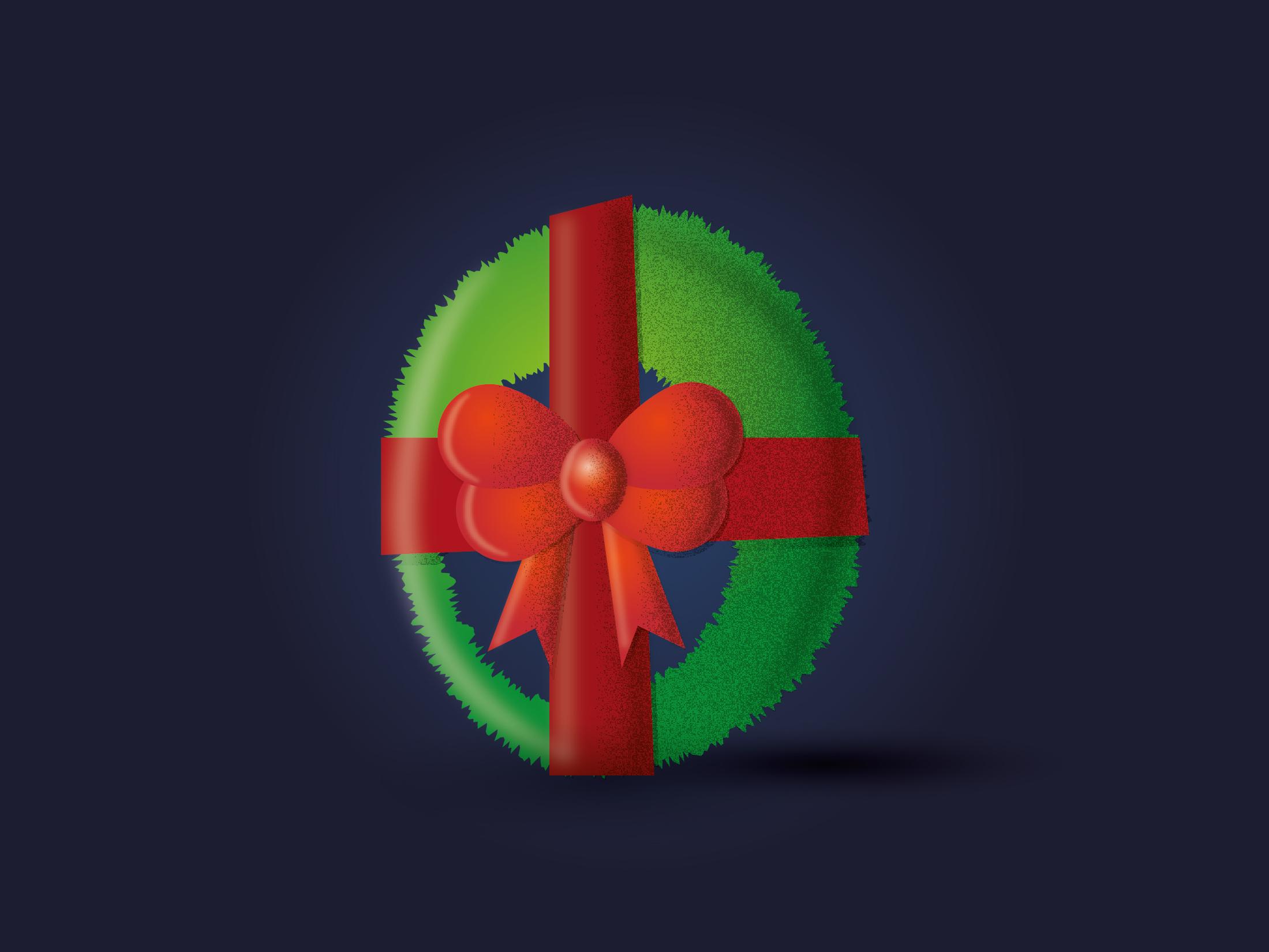 Ho ho no christmas kamila figura figured it out society 6 santa claus elf reindeer wreath grinch beh