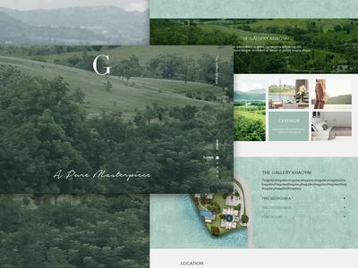 The Gallery Khaoyai residential website