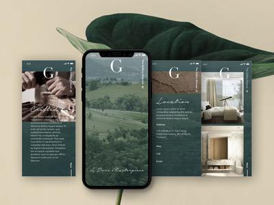 The Gallery condominium mobile website
