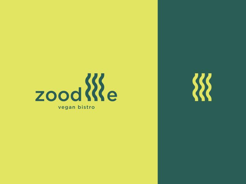 Zoodllle Vegan bistro ci brandidentity branding logo graphicdesign design