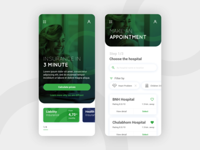 Online Insurance UI